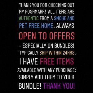 Accessories - Please Read! ✅